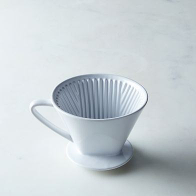Multi-Cup Porcelain Coffee Pour Over