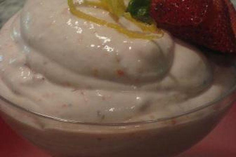 Strawberry Limoncello Fool