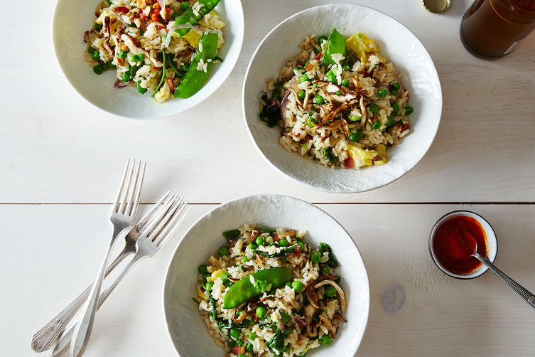 Springtime Bacon and Egg Fried Rice Recipe on Food52