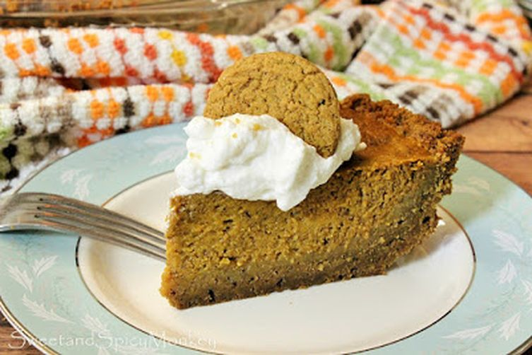 Chai Tea Pumpkin Pie