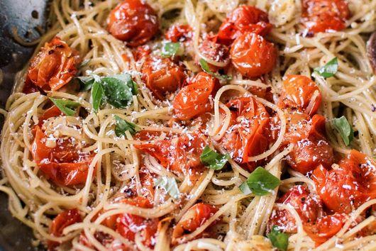 Burst Sun Gold Tomato Pasta