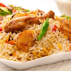 Chicken Biryani Recipe and Nutritional Information