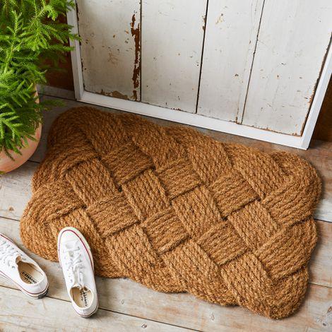 Rope Knot Doormat