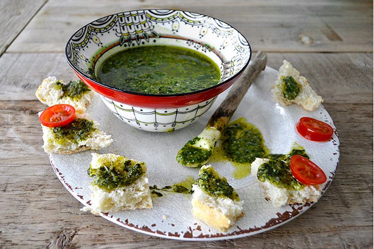 Basil Pignoli Pesto Recipe