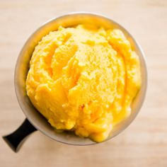 Mango Lassi Frozen Yogurt