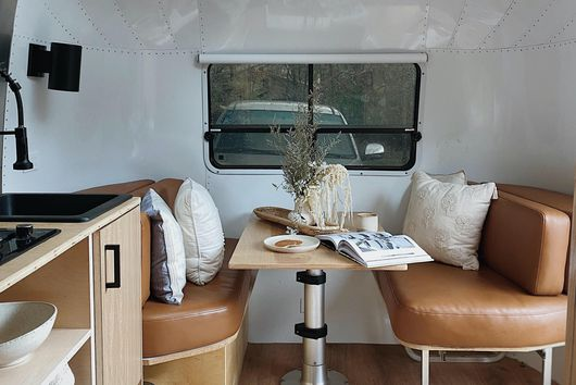 A Camper That's Stylish, Functional & Fits a Family of Five