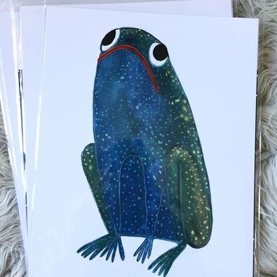 Mysic Toad Limited Edition Print, Hallie Batemen