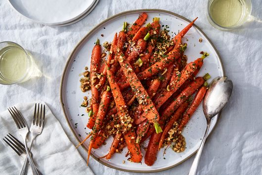 Carrots with Brown Butter and Hazelnuts