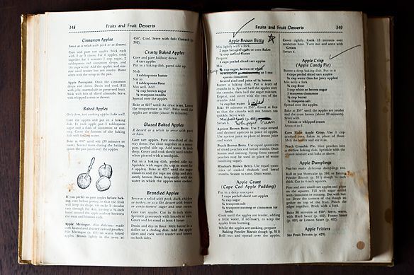 Open cookbook