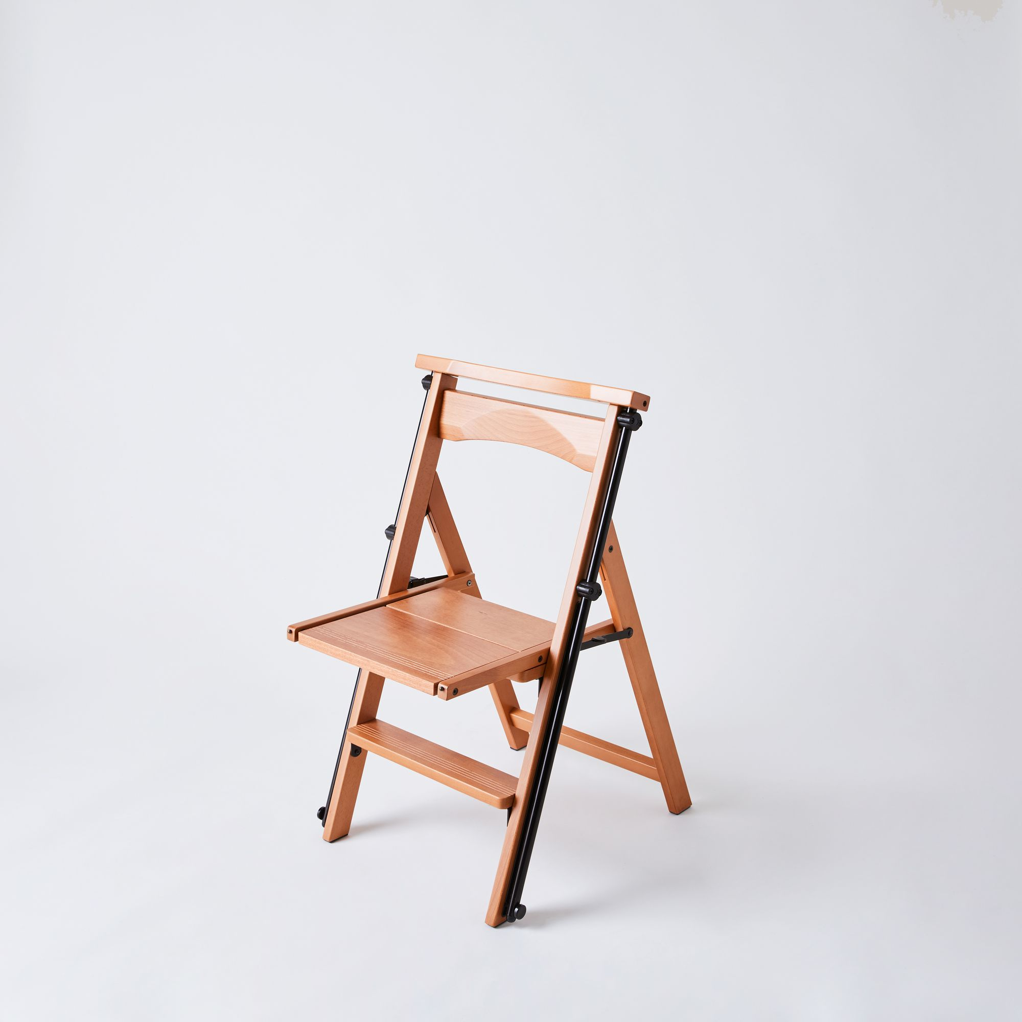 Hasegawa Arredamenti Eletta Wooden Ladder Chair 4 Step On Food52