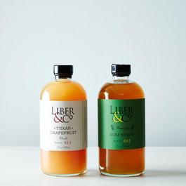 Liber & Co. Pineapple Gum Syrup & Texas Grapefruit Shrub