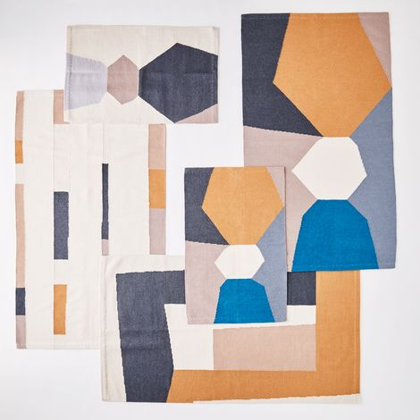 Abstract Graphic Rugs