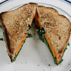 Hummus and Sweet Potato Sandwich