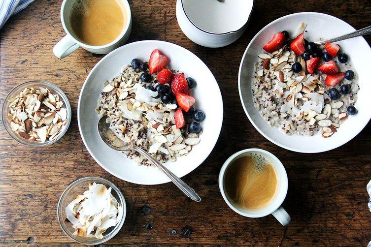 Quinoa and Oat Breakfast Porridge