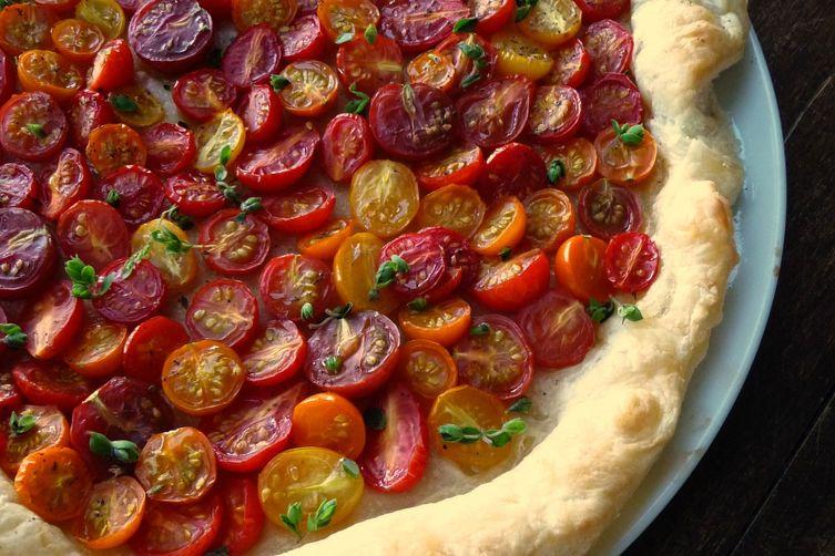 Heirloom Cherry Tomato Tart