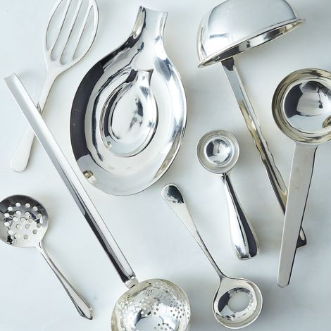 Silver-Plated Heirloom Serving Utensils