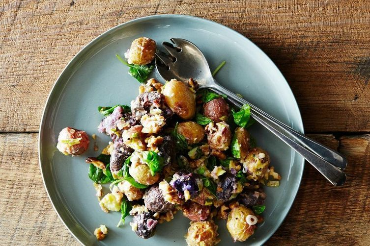 Roasted Potato Salad on Food52