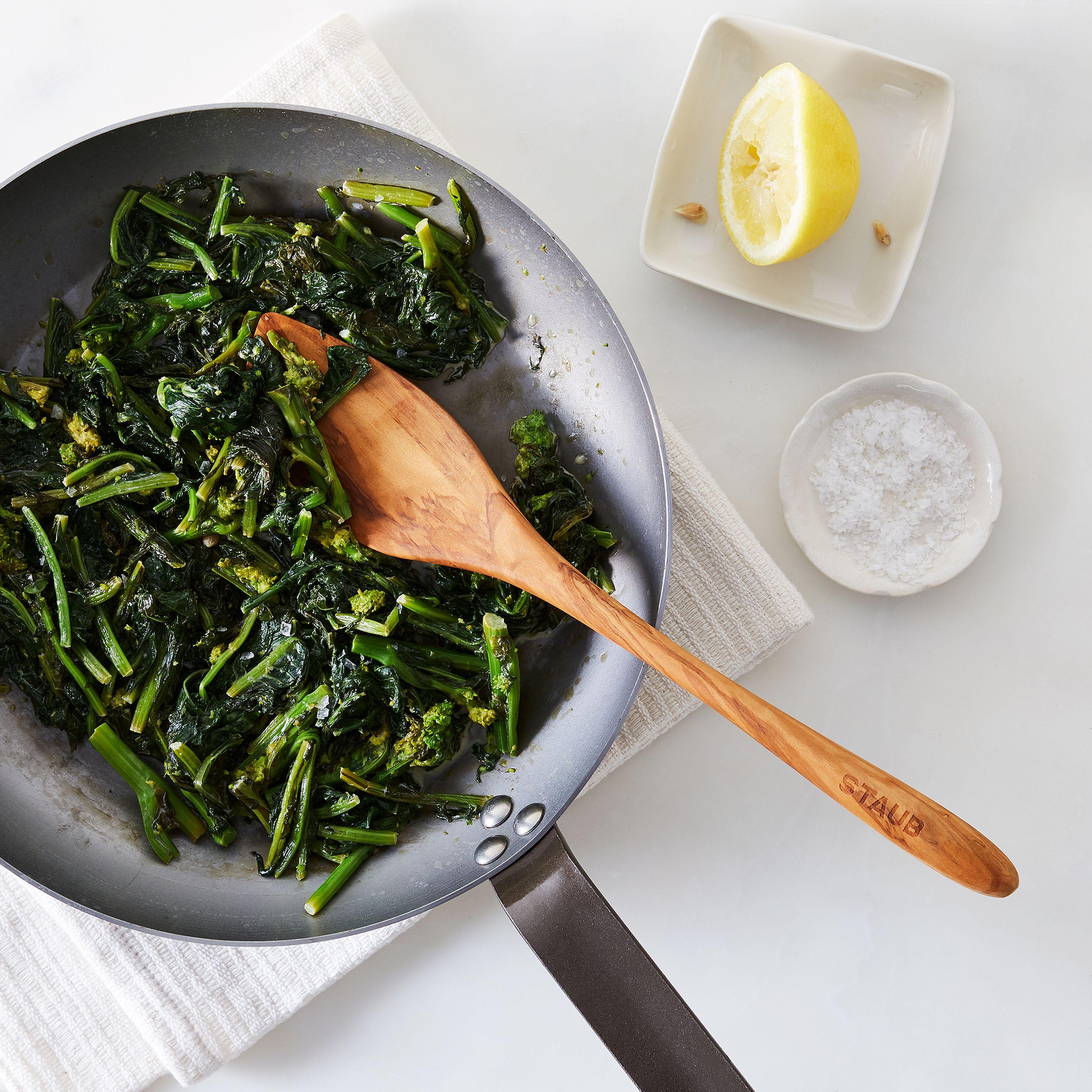 Staub Olive Wood Spoon Spatula Set On Food52