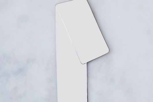 Folded Angle Metal Bookmark