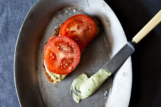 Tomato Sandwich Worthy of a Little Bacon