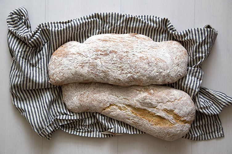 Maybe your imaginary bread recipe is leading you towards ciabatta made with biga.