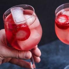 Three-Ingredient Rosé Cocktail