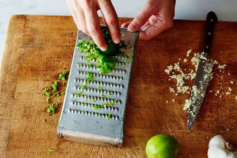 Grated Serrano Pepper