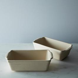 Loaf Pan: Ceramic Unglazed Ohio Stoneware (Set of 2)