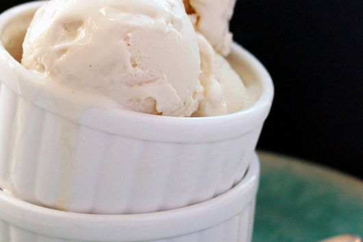 Maple Lavender Frozen Yogurt