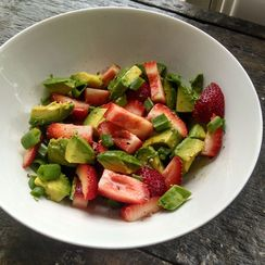 Strawberry & Avocado Salad