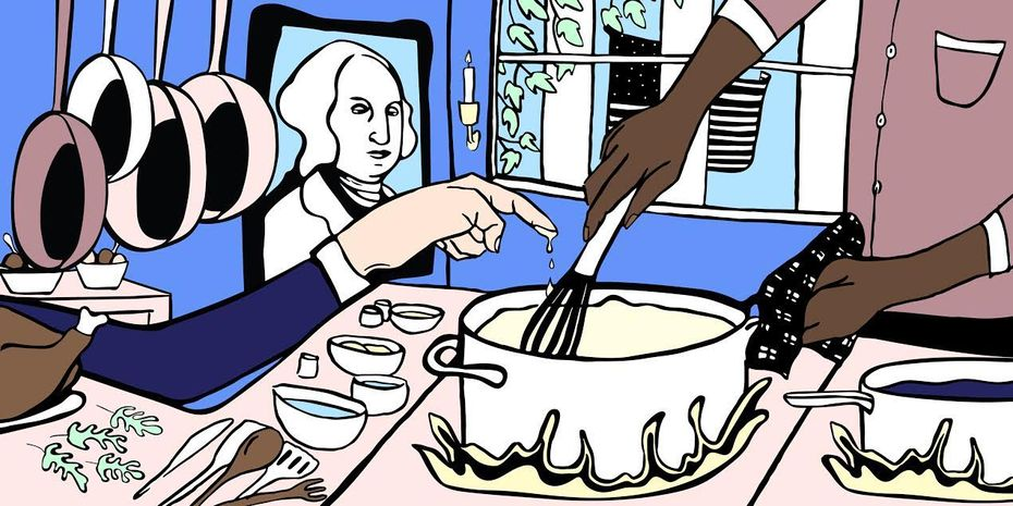 The Untold Stories of the White House Kitchen Cabinet
