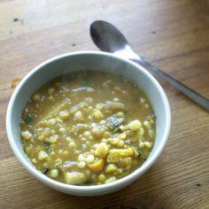 Split Corn Soup