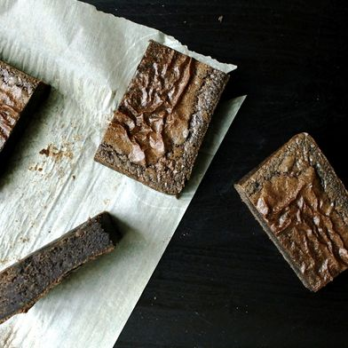 Craggle-Top Buckwheat Brownies