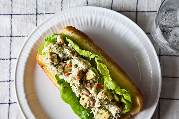 Avocado Crab Rolls
