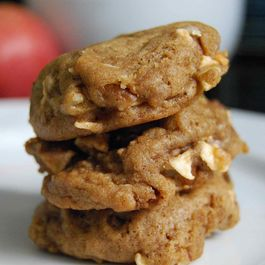 Spiced Apple Cookies