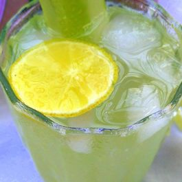 Lemon and Cucumber cooler