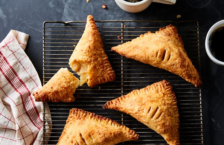 4-Ingredient Apple Turnovers With an All-Cheddar (All! Cheddar!) Crust