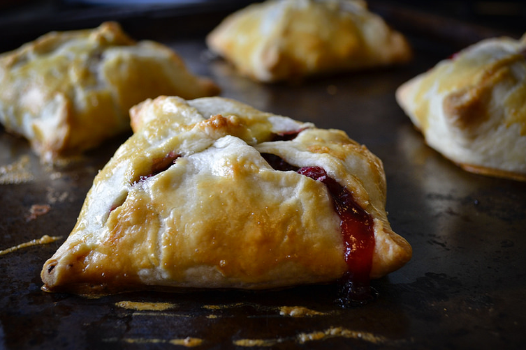 Door County Cherry and Brandy Pastries