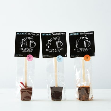 Hot Chocolate on a Stick (French Truffle, Peppermint & 3 Chili)
