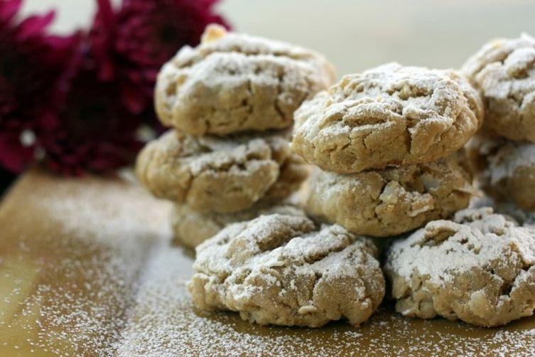 Coconut Lemon Sugar Cookies