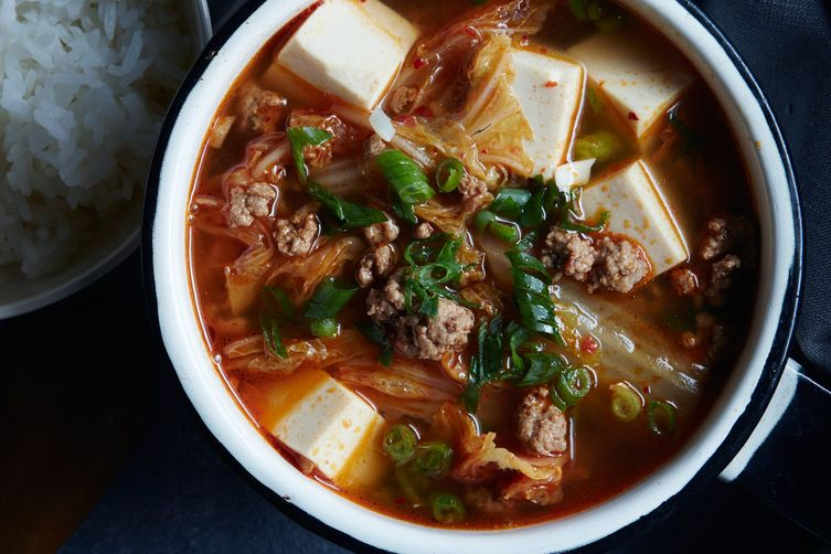 Kimchi Tofu Soup Recipe on Food52