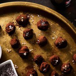 Sinfully Divine 'Lehiyam' truffles (Spiced Ginger truffles)