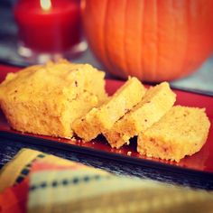 Pumpkin Spice Cornbread in Instant Pot (or Oven)
