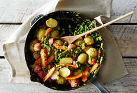 Dinner Tonight: Spring Vegetable Jumble