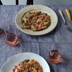 Rosé Chicken Picatta with Pink Peppercorns
