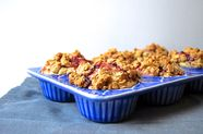 Peanut Butter & Jelly Streusel Muffins