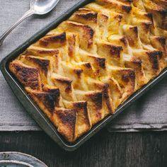 Marmalade Bread Pudding