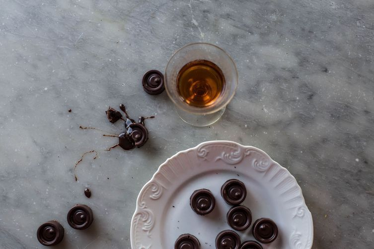 Serve chocolates with the coffee to make the meal last longer.
