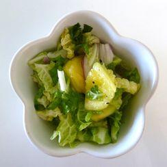 Summertime PineNapa Salad