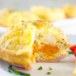 Bacon n' Egg Pepper Muffins
